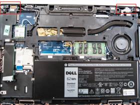 Dell Latitude E7270屏轴E5470屏轴松动一例,E7270屏幕松动